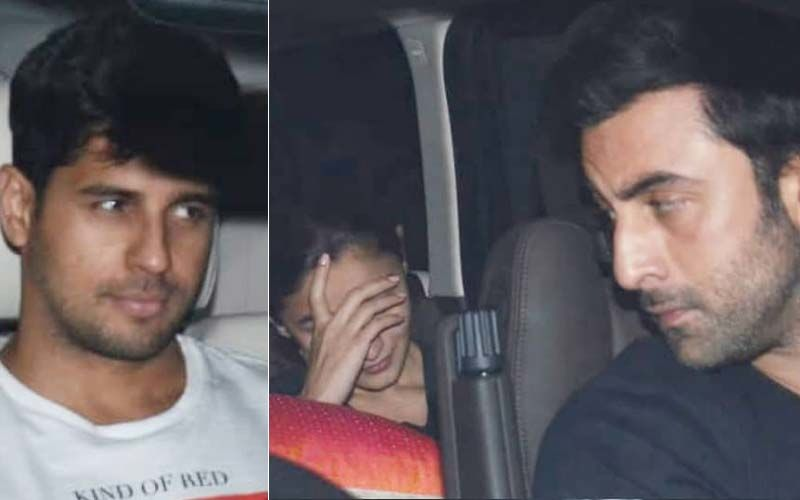 When Alia Bhatt, Ranbir Kapoor And Sidharth Malhotra Came Under The Same Roof Again; This Time For Karan Johar