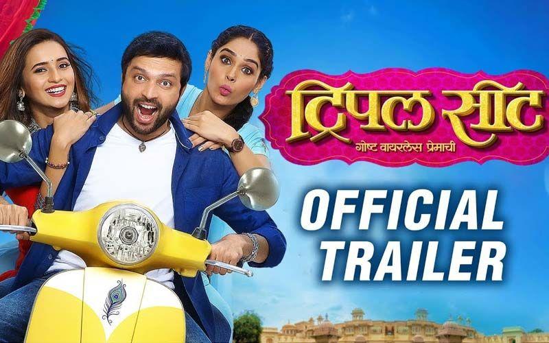Triple Seat' Trailer Out: Ankush Chaudhari, Shivani Surve, Pallavi Patil Starrer Is A Love Triangle