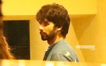 Pics From Mira Rajput-Shahid Kapoor's House: Star Wife Breaks Her Fast At Moonrise, Shahid Is All Smiles