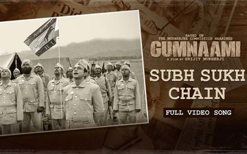 Gumnaami 'Subh Sukh Chain' Song Is Hindi translation Of Rabindranath Tagore's Bharoto Bhagyo Bidhata