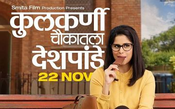 Kulkarni Chowkatala Desphande New Poster Released: Sai Tamhankar In A Never Seen Avatar