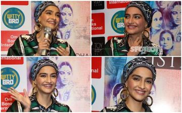 Sonam Kapoor's Headgear: Applaudable Effort Or Experiment Gone Wrong?