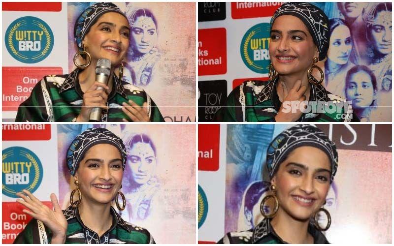 Sonam Kapoor's Headgear: Applaudable Effort Or Experiment Gone Wrong?
