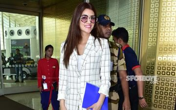 Is That The Script Of Satte Pe Satta Remake, Kriti Sanon? Actress Means Business At The Airport