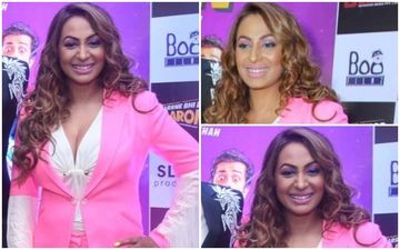 FASHION CULPRIT OF THE DAY: Kashmera Shah, This Over The Top Pink Avatar Is Nauseating- What Were You Thinking?