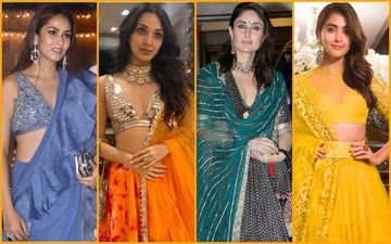 Mira Rajput, Kiara Advani, Kareena Kapoor Khan And Pooja Hegde's Outfits Are Causing A Major Diwali Hangover!