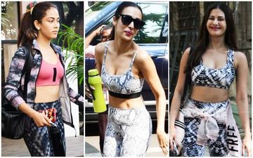Mira Rajput, Malaika Arora And Amyra Dastur- Who Said You Can't Look Sexy While Sweating It Out?