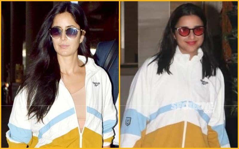 Katrina Kaif Vs Parineeti Chopra- Who Wore The Reebok Tracksuit Better?