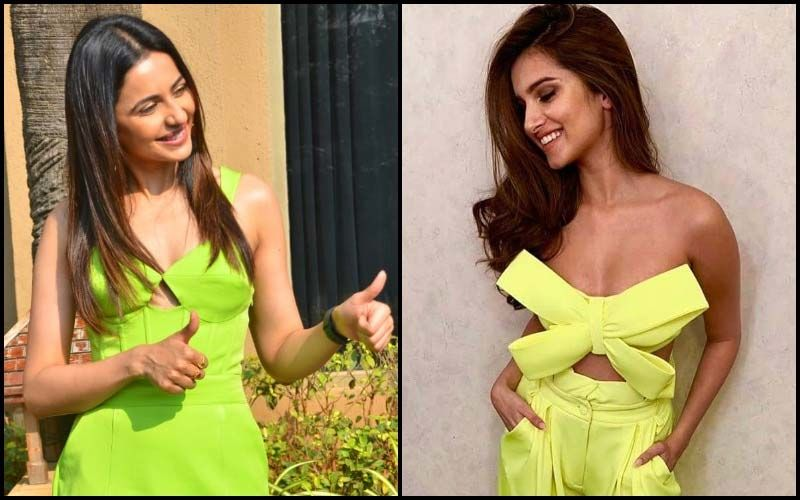 Hot, Hotter, Hottest In Neon: Rakul Preet Singh Reminds Us Of Her Marjaavaan Co-star Tara Sutaria In The Skimpy Bow-Top!