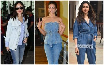 Kareena Kapoor Khan, Kriti Kharbanda And Rakul Preet Singh Give Tips On How To Rock The Denim Look