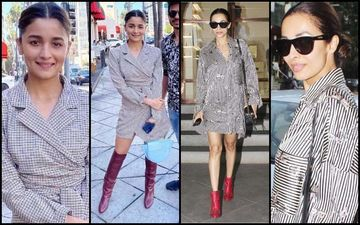 Malaika Arora Vs Alia Bhatt: Red Heels With Checks Or Satin Stripes?