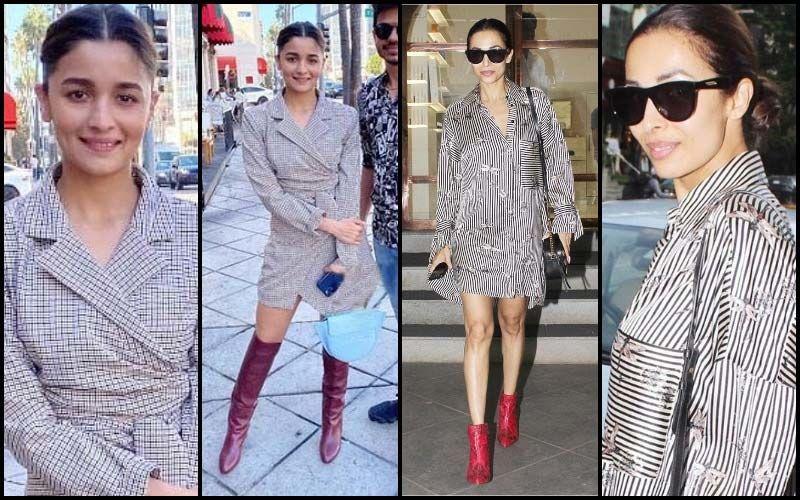 Malaika Arora Vs Alia Bhatt: Red Heels With Checks Or Satin Stripes?