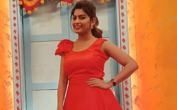 'Yuva Dancing Queen': Dhanashri Kadgaonkar Looks Vivaciously Hot In A Red Gown While Promoting Her New Show On 'Chala Hawa Yeu Dya'
