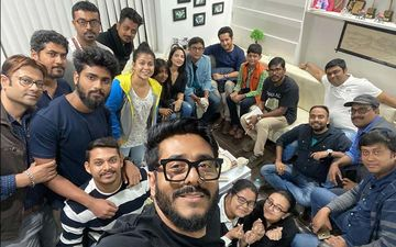 Habi Gabji: Director Raj Chakraborty Shares Picture With The Team Of His Next Film