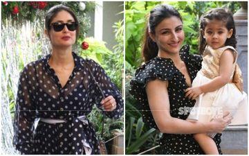 Kareena Kapoor Khan Twins With Sister-In-Law Soha Ali Khan In White Polka Dots- Like Or Dislike?