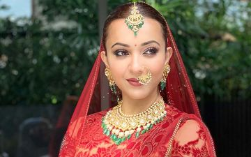 Koushani Mukherjee Looks Breathtakingly Beautiful Bride In Red Lehanga, Shares Pic On Instagram