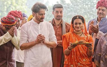 Rangbaaz: Spruha Joshi In A Rajputani Look With Jimmy Shergil For The Season 2 Of The Web Series