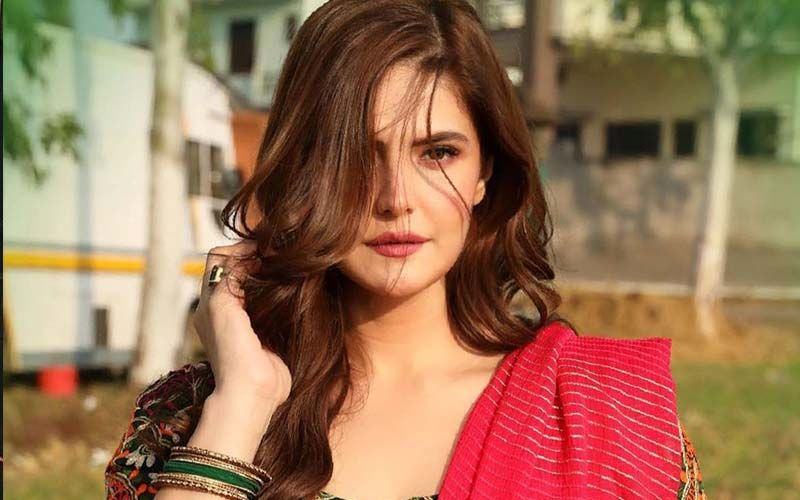 Zareen Khan Riding Bike While Shooting For 'Daaka', Shares Throwback Video On Instagram