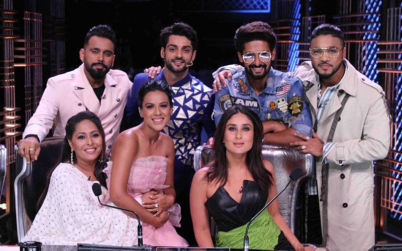 Kareena Kapoor, Geeta Kapoor, Nia Sharma, Ravi Dubey, Karan Wahi Enjoy A Fun Day On Sets Of Dance India Dance