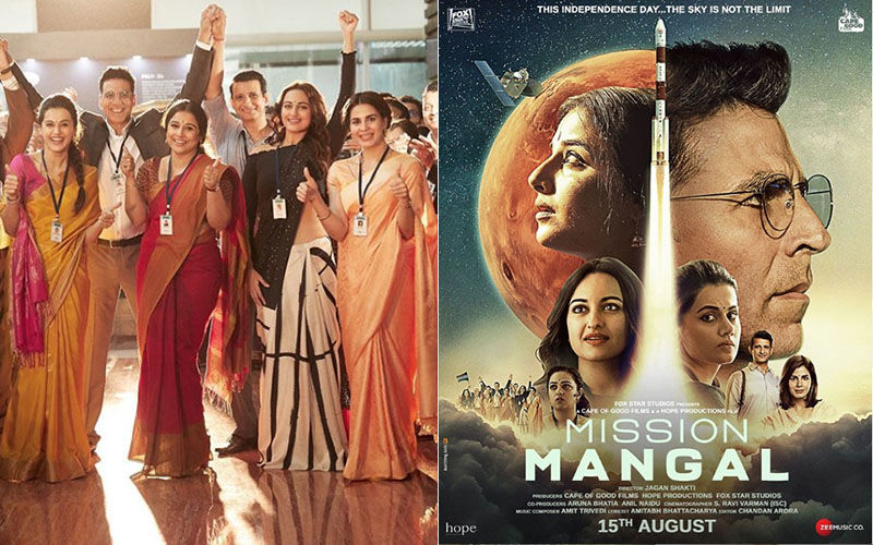 Mission Mangal Poster: Akshay Kumar Drops Film's Poster, Announces Trailer Will Be Out On July 18