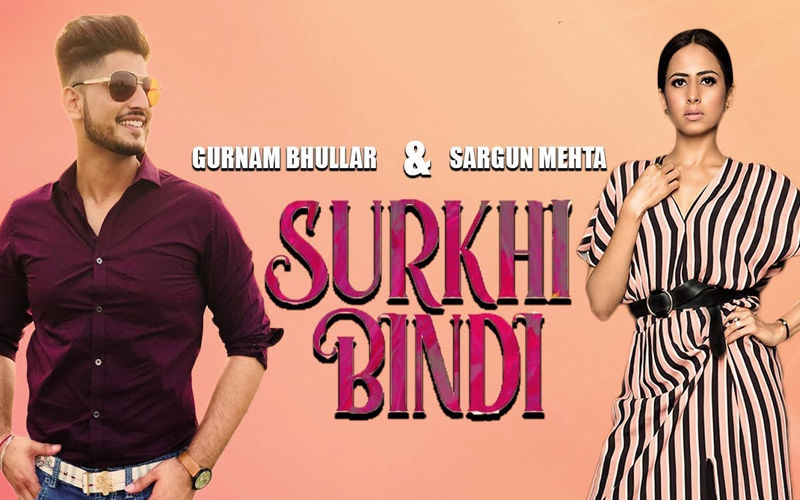 First Look Of Sargun Mehta And Gurnam Bhullar's film 'Surkhi Bindi' To Be Unveiled Soon