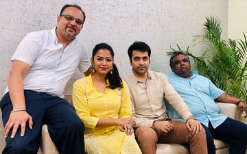 Agantuk: Abir Chatterjee Shares Pictures With The Star Cast From Shooting Set, See Here