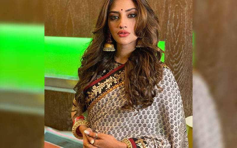 Nusrat Jahan Shares Throwback Pictures From Her Sangeet Ceremony-View Here