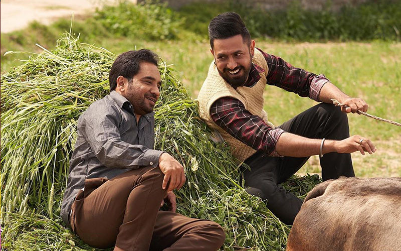 Daaka: Gippy Grewal Shares A Picture Of Him With Rana Ranbir From The Sets