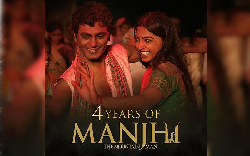 Radhika Apte Celebrates 4 Years Of Her Film 'Manjhi The Mountain Man' With Nawazuddin Siddiqui