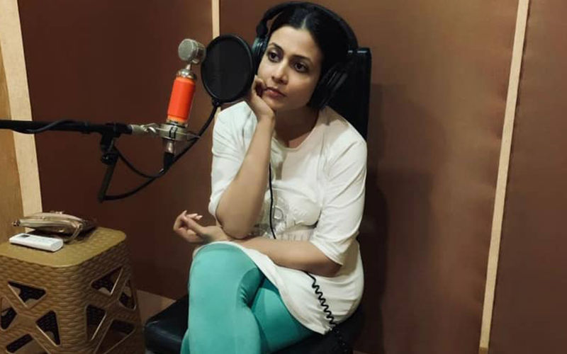 Mitin Mashi: Koel Mallick Shares Picture On Instagram While Ding Dubbing For Film