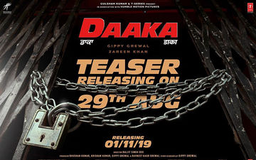 Gippy Grewal Starrer 'Daaka' Teaser To Release Tomorrow