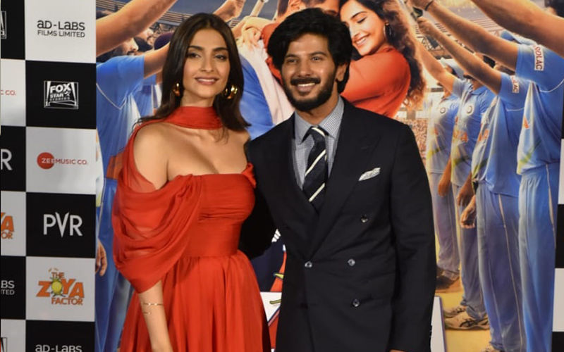 The Zoya Factor Trailer Launch: Sonam Kapoor And Dulquer Salmaan Paint A Pretty Picture In Their Best Outfits