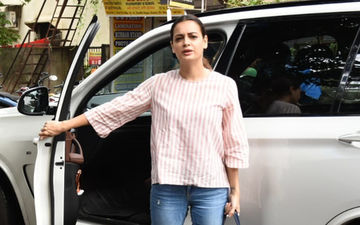 Dia Mirza And Sahil Sangha Clicked Together For The First Time Post Separation, Pics Here