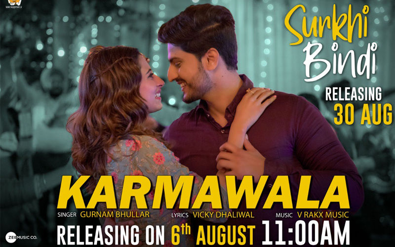 'Karmawala': First Song From Gurnam Bhullar And Sargun Mehta Starrer 'Surkhi Bindi' Is Out Now