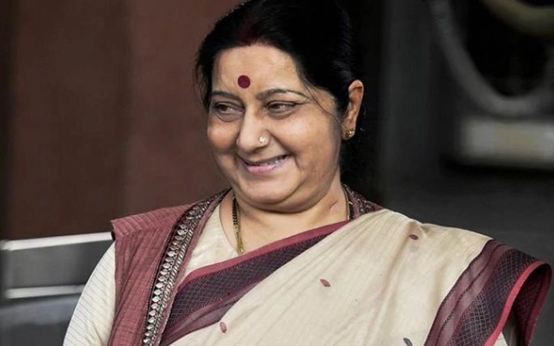 Sushma Swaraj Passes Away At 67; Devasted Pollywood Celebs Bids Farewell To The Beloved Leader