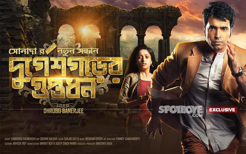 Dhrubo Banerjee: Durgeshgorer Guptodhon completing 100 days is a magical feeling, says director