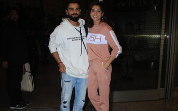 Star Couple Virat Kohli And Anushka Sharma Look Happy As They Leave The Country For Another Exotic Vacay