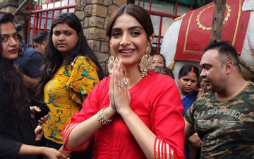 The Zoya Factor: Even The 'Luckiest' Girl On Celluloid Needs Divine Intervention, Sonam Kapoor Visits A Temple In Juhu