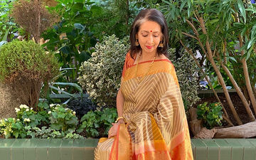 Neena Kulkarni Shares Moments From Her Tranquil Shoot With Vikram Gokhale