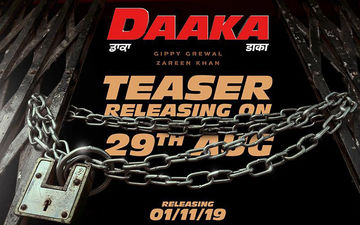 'Daaka' New Poster Starring Gippy Grewal And Zareen Khan Is All About Vibrant Colours