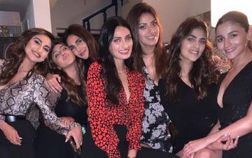 Inside Pics: Alia Bhatt Hugs Boyfriend Ranbir Kapoor While Others Party Hard At Akansha Ranjan's B'day Bash