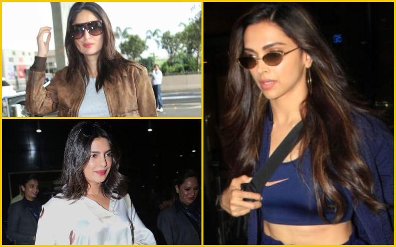 Best Airport Look Of The Week: Deepika Padukone, Priyanka Chopra Jonas Or Kareena Kapoor Khan?