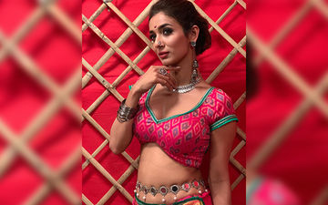 The New Hot Fashion Icon Heena Panchal Goes Backless For A Traditional Photo Shoot