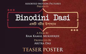 Ram Kamal Mukherjee Announces His Next Film 'Binodini Dasi', Releases Teaser Poster