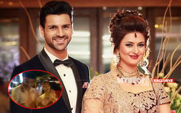 Divyanka Tripathi-Vivek Dahiya Dance Their Hearts Out At Ganesh Visarjan Of The Actress' Manager- WATCH EXCLUSIVE VIDEOS