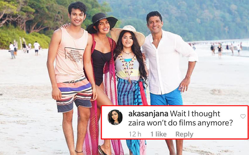 Priyanka Chopra's Beach Picture With Zaira Wasim Goes Viral; Netizens Troll Zaira, Call Her 'Nautanki' And 'Dramebaaz'