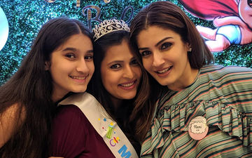 Raveena Tandon's Daughter's Baby Shower Pictures; 90s 'Mast Mast Girl' Will Soon Be A Nani