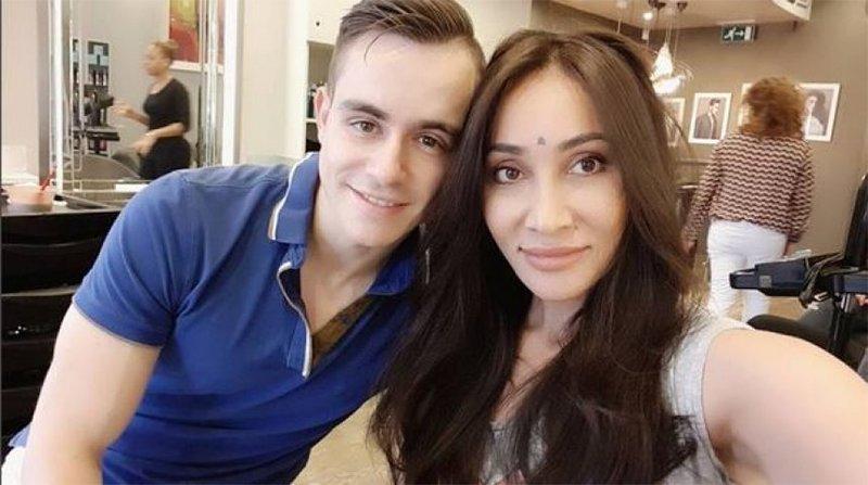Sofia Hayat With Husband Vlad