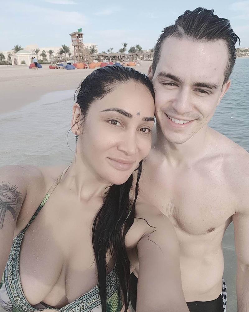 Sofia Hayat With Vlad Stanescu