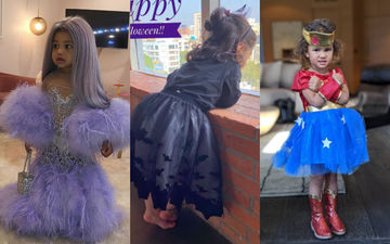 Halloween 2019: Soha Ali Khan's Daughter Inaaya, Kylie Jenner's Daughter Stormi And Other Little Wonders On A 'Trick OR Treat' Mission